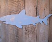 Wooden Shark - Indoor Large Ocean Beach Decoration