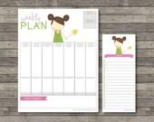 Weekly Plan . Digital Collection . Mayi Carles