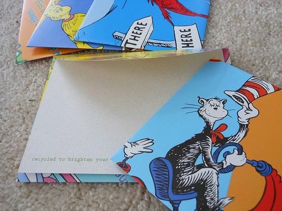 Dr Seuss Envelope Pack