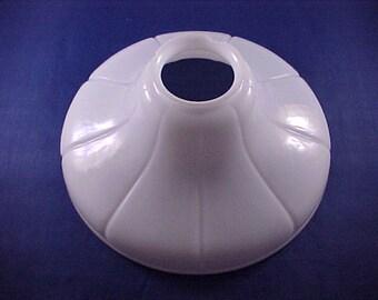 White Milkglass Light Fixture Shade