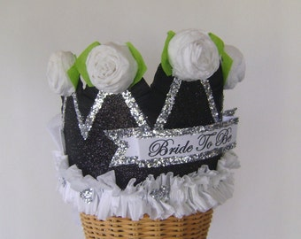 bachelorette crown, Bride to Be crown, wedding crown, bride crown, hen party crown, hen party hat