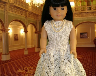 BELLE of THE BALL doll knitting pattern