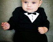 My First Tux Baby Gown