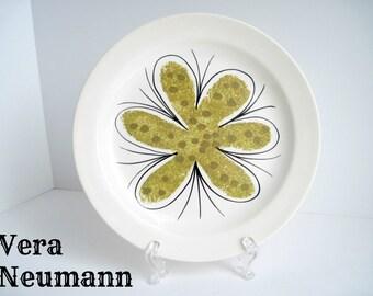 Vera Neumann Plate, Calypso, Salad, Island Worcester