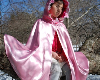 Child's Cloak,Pink Petals