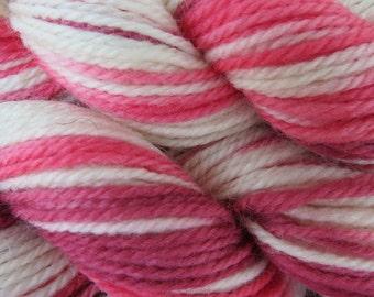Rose Lane Hand Dyed Merino Yarn Dk weight 120 yards