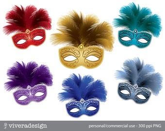 Masquerade Mask - Digital Clip Art
