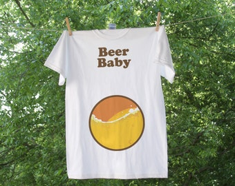 Beer Baby // Paternity Sympathetic Pregnancy Weight Shirt for Men - TR