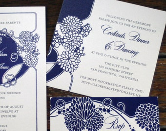 Art Deco Flower Wedding Invitations,Deco Wedding Invite,Art Deco floral wedding invitation,Gatsby Wedding Invites,Deco Garden Wedding Invite