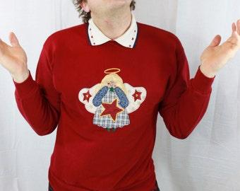 SALE ITEM Vintage Angel Sweatshirt