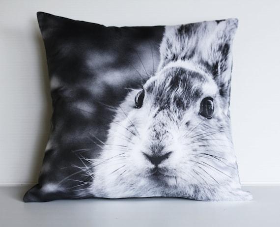 Rabbit cushion/ animal pillow/ kids decor/ 16 cushion/