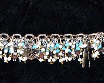 Vintage Southwest Charm Bracelet