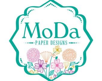 Business Logo Design - Custom Logo Design - Logo Design with Web Banner
