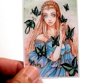 Butterfly Garden Limited ACEO card