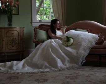 Custom Couture Wedding Gown Deb Dress Strapless Ballgown Princess