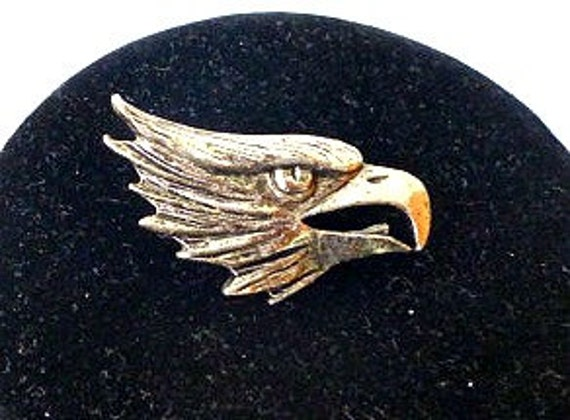 Vtg. Eagle Pin- Hipster, Metal, Bika, Brooch
