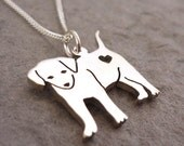 Cutest Puppy Sterling Silver Handmade Pendant