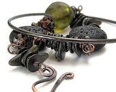 BLACK SPARKS Russian sci fi literature jewelry unusual jewelry unusual bracelets strange unique jewelry science fiction  literary jewelry