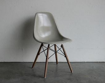 Eames for Herman Miller Dowel Base Side Chair-DSW