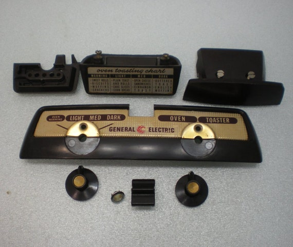 1950s GE General Electric Toaster with Oven Replacement Parts ...