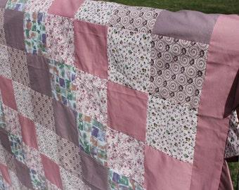 Quilt Top Pink