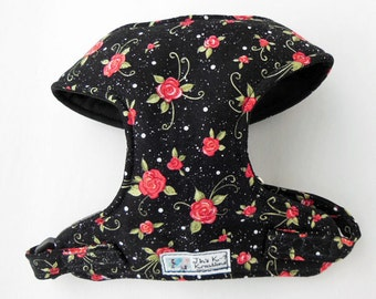 Rose Comfort Soft Dog Harness - Made to Order -