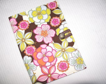 Planners and organizers, Medium sized in Vintage Flower, journal planner, planner portfolio, planners and organizers, calendar cover