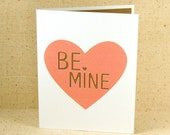 Valentine's Day Card - Valentine - Be mine