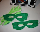 Super Hero Childrens MASK Green