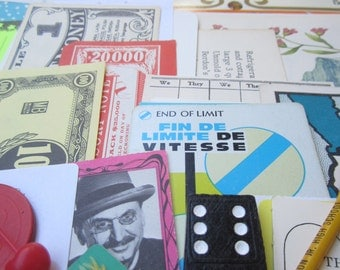 Large Grunge Pack (100)- Vintage paper ephemera lot (large pack)
