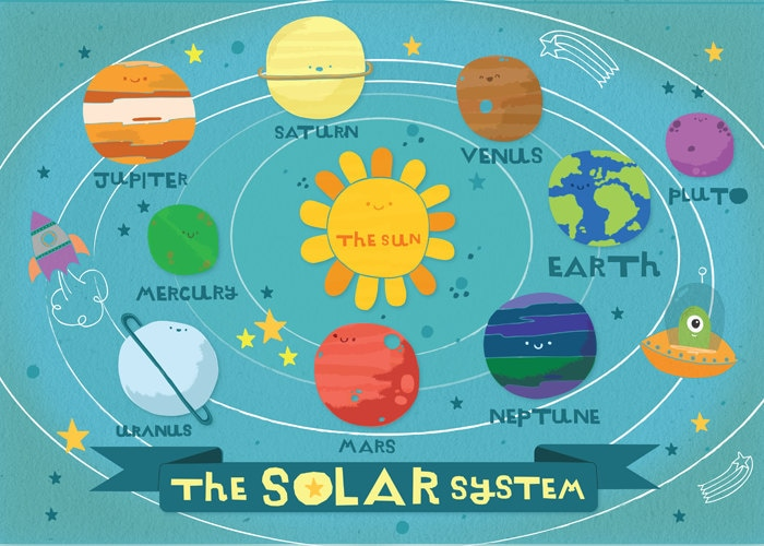 Solar system print out crafts