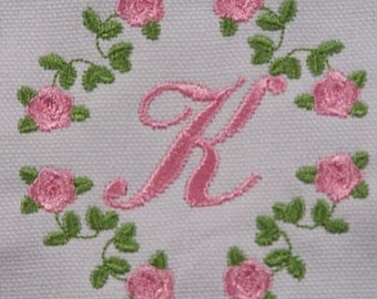Roses Personalized Baby Bloomers/Diaper Covers