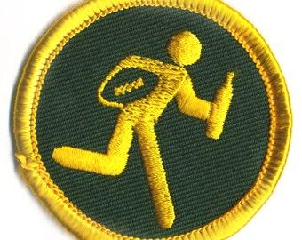 Drunk Football Badge