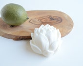 Spa-Lime Lotus Flower Goat's Milk and Shea Butter Handmade Soap- All Natural