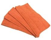 Swiffer Wet Jet Pads- Set of 2- ORANGE- Microfiber- Refill- Reusable- Ecofriendly
