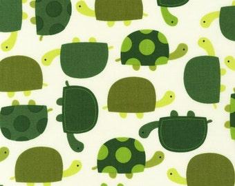 Urban Zoologie Grass Turtles for Robert Kaufman, 1/2 yard