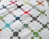 SALE Modern Quilt Simply Color Fabric and Kona White