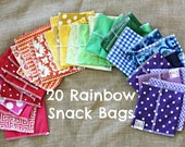 Mega Pack Rainbow assortment 20 bags- Party favors - class gifts- birthday - FREE US SHIPPING
