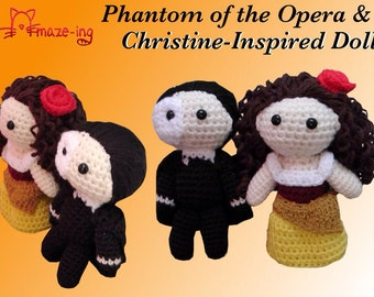 Amaze-ing Phantom of the Opera AND Christine-Inspired Doll - Made to Order