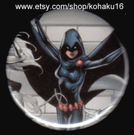 An Irate Raven Button
