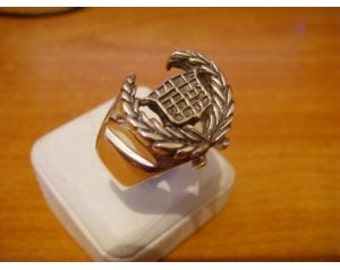 Rare CAR Cadillac Sterling Silver Ring 925
