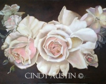 Rose Painting - giclee print
