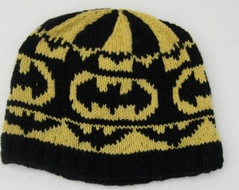 Wool hat: Batman