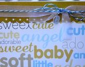 Baby Boy congrats card, New Baby Congrats, Newborn congrats- Sweet Baby