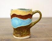 Summer Time Blooming Ceramic Mug