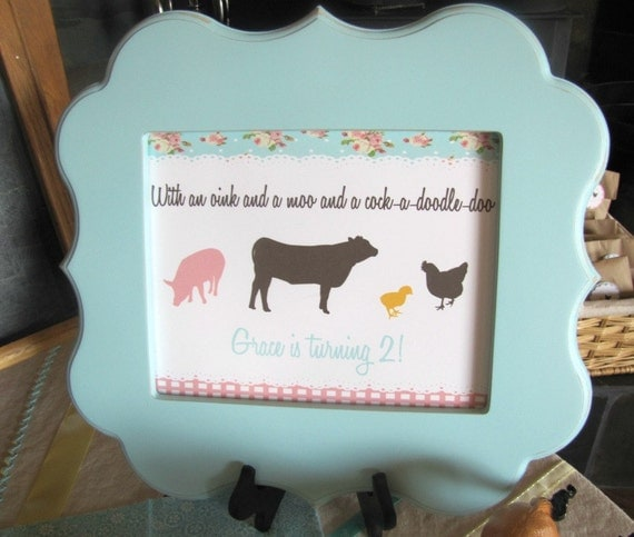 Shabby Chic Farm Sign