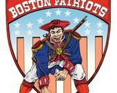 New England Patriots - Art Print