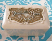 Vintage Celluloid Ring Box Engagement Ring Box