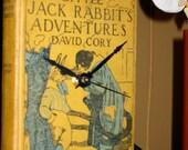 Little Jack Rabbit's Adventures - David Cory - Book Shelf Clock