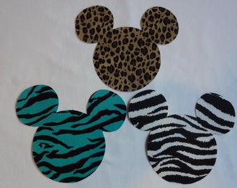 ONE Mickey Mouse Inspired Iron On Applique DIY